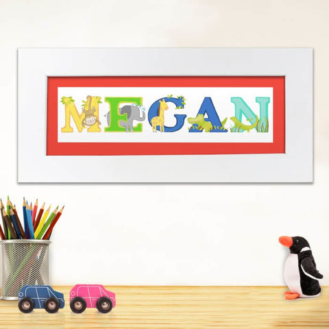 Named Frames Collection - Customised Baby Gifts