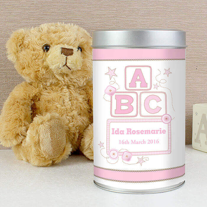 ABC Teddy in a Tin