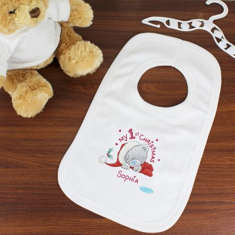 Me,To,You,My,1st,Christmas,Bib,Me To You My 1st Christmas Bib