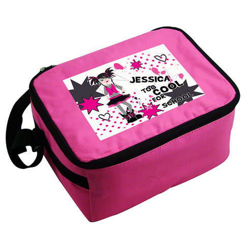 Too,Cool,Girl,Lunch,Bag,Too Cool Girl Lunch Bag