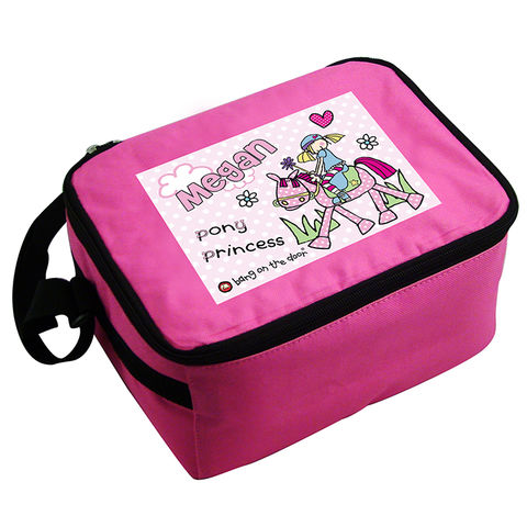 Bang,on,the,Door,Pony,Girl,Lunch,Bag,Bang on the Door Pony Girl Lunch Bag