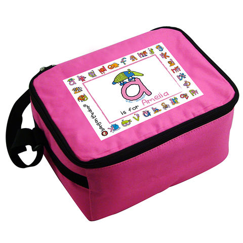 Bang,On,The,Door,Animal,Alphabet,Girls,Lunch,Bag,Bang On The Door Animal Alphabet Girls Lunch Bag