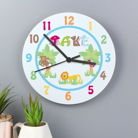Animal,Alphabet,Boys,Clock,Animal Alphabet Boys Clock