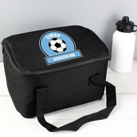 Sky,Blue,Football,Fan,Lunch,Bag,Sky Blue Football Fan Lunch Bag