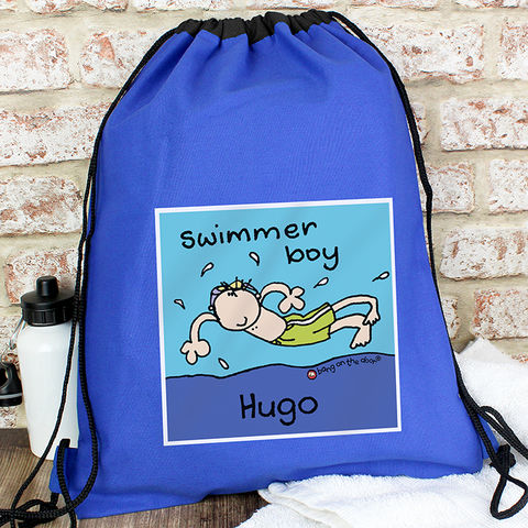 Bang,On,The,Door,Swimmer,Boy,Swim,bag,Bang On The Door Swimmer Boy Swim bag,boys swim bag, back to school swim bag