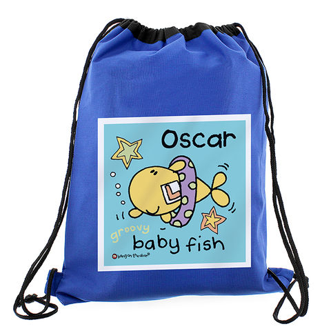 Bang,On,The,Door,Baby,Fish,Boys,Swim,bag,Bang On The Door Baby Fish Boys Swim bag,swim bag, childs swim bag,childrens swim bag,kids swim bag