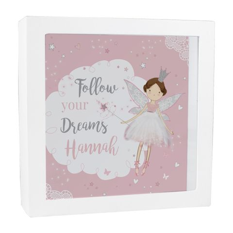 Personalised,Fairy,Princess,Fund,and,Keepsake,Box,Fairy Princess Fund and Keepsake Box