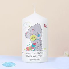 Tiny Tatty Teddy Cuddle Bug Candle baby christening gifts