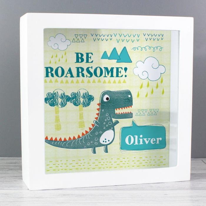 Dinosaur Fund and Keepsake Box baby gifts