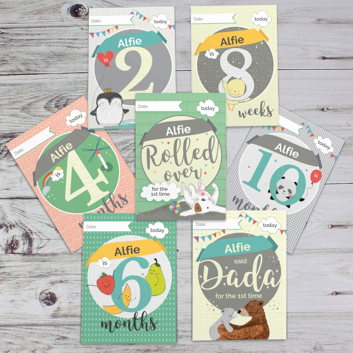Baby Cards: For Milestone Moments