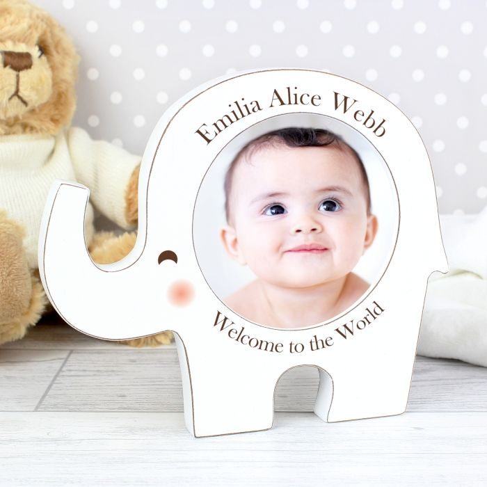 Elephant Photo Frame personalised gifts for girls