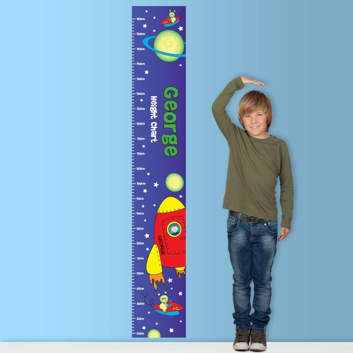 Space Height Chart baby gifts