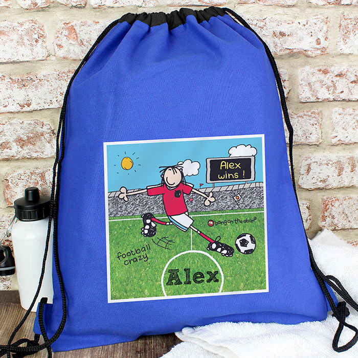 Bang On The Door Football Crazy kit bag baby gifts