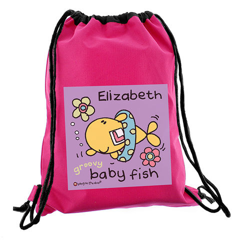Bang,On,The,Door,Baby,Fish,Girls,Swim,bag,Bang On The Door Baby Fish Girls Swim bag,pink swim bag,girls swim bag,girls pink swim bag,waterproof swim bag