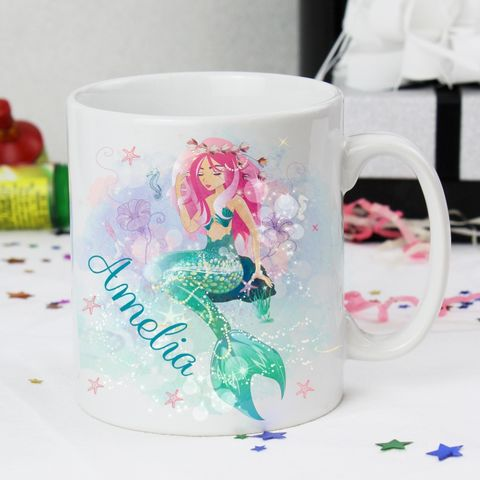 Mermaid,Mug,Mermaid Mug