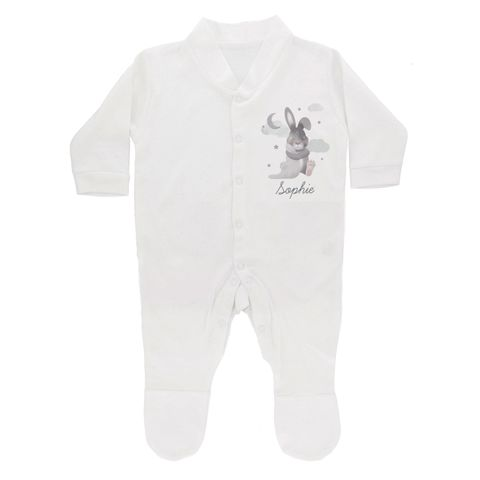 Baby,Bunny,Babygrow,0-3,months,Baby Bunny Babygrow 0-3 months