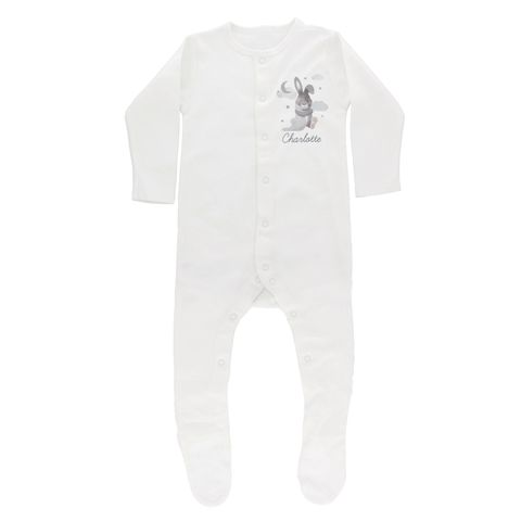Baby,Bunny,Babygrow,9-12,months,Baby Bunny Babygrow 9-12 months