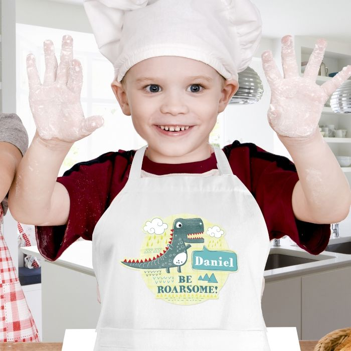 Dinosaur Childrens Apron