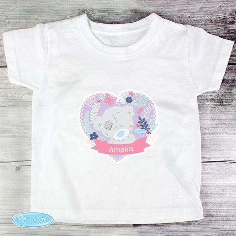 Tiny,Tatty,Teddy,Girl's,T-shirt,3-4,Years,Tiny Tatty Teddy Girl's T-shirt 3-4 Years