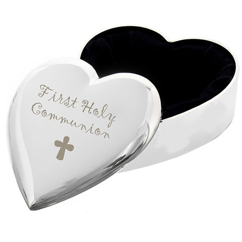 1st,Holy,Communion,Heart,Trinket,Box,1st Holy Communion Heart Trinket Box