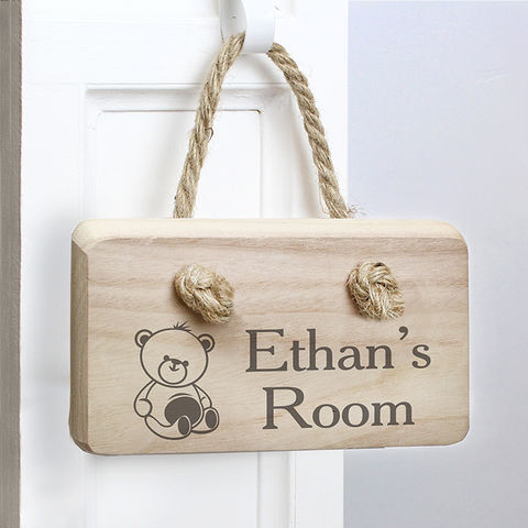 Teddy,Wooden,Sign,Teddy Wooden Sign