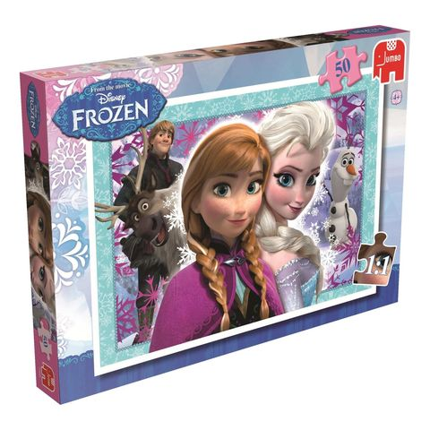 Disney,Frozen,50,Piece,Jigsaw,Puzzle, Disney, Puzzle, Jigsaw, Children's Gift, Christmas