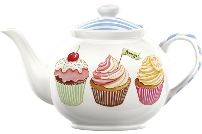 Retro Treats Six Cup Tea Pot - product images  of