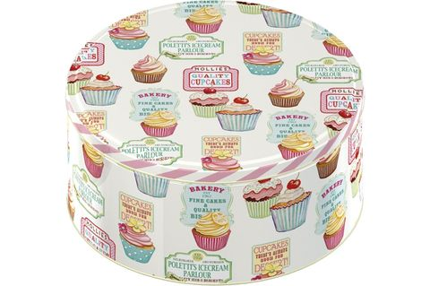Retro,Treats,Set,of,2,Cake,Tins, Tea Party, Christmas, Gifts, cakes, Baking, Vintage