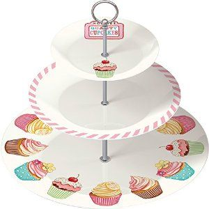 Retro,Treats,3,Tier,Cake,Stand, Tea Party, Christmas, Gifts, cakes, Baking, Vintage