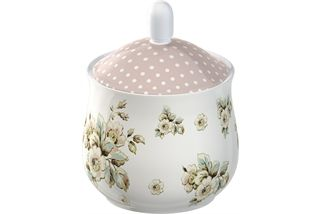Katie Alice Cottage Flower Sugar Bowl & Creamer Gift Set - product images  of