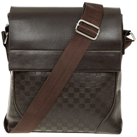 Men's,Brown,Satchel,Bag