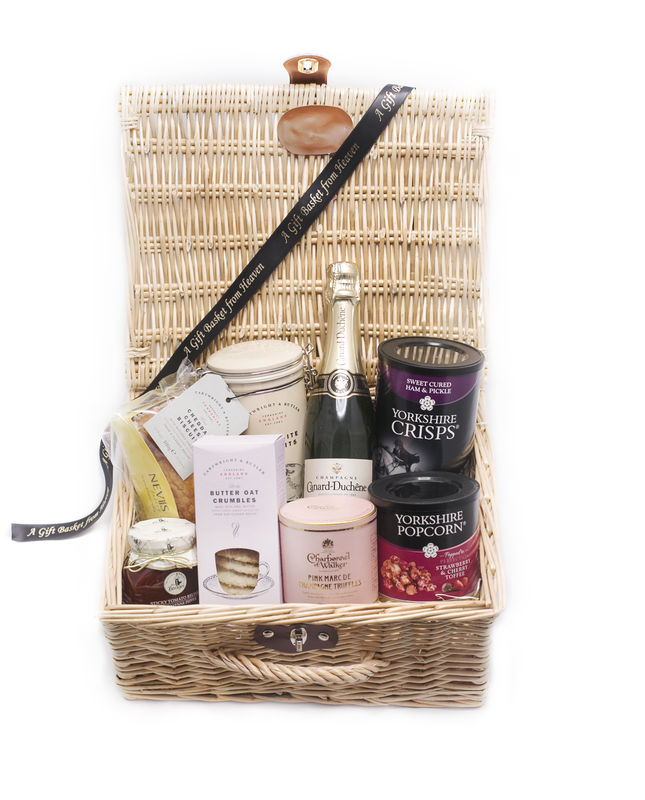 Pink Champagne Truffles Hamper - product image