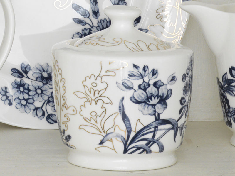 Victoria and Albert Palmers Silk Sugar Bowl - product images  of