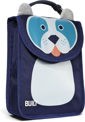 BUILT,Big,Apple,Buddies,Lunch,Sack,Delancey,Doggies,Tote Bag, Kids Lunch Bag, BUILT, school bag