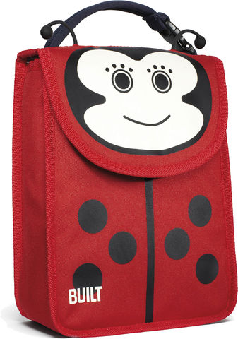 BUILT,Big,Apple,Buddies,Lunch,Sack,Lafay,Tote Bag, Kids Lunch Bag, BUILT, school bag