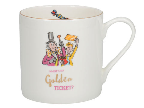Roald,Dahl,Charlie,And,The,Chocolate,Factory,Fine,Bone,China,Mug, Charlie and The Chocolate Factory, Roald Dahl, Gifts, Kids Gifts, Christmas