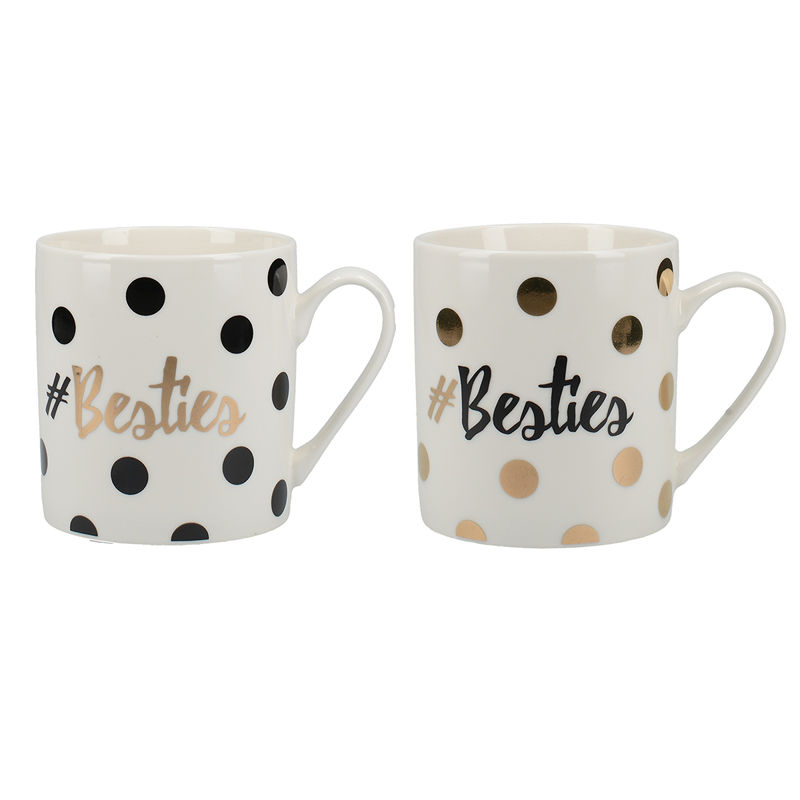 Ava & I Set Of 2 Can Mugs Besties - product images  of