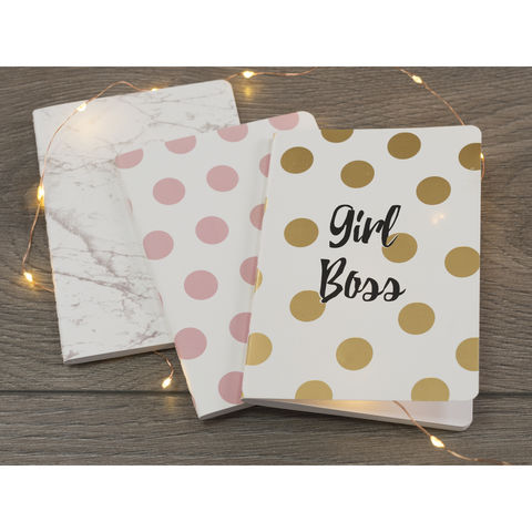 Ava & I Set Of 3 A6 Notebooks - product images  of