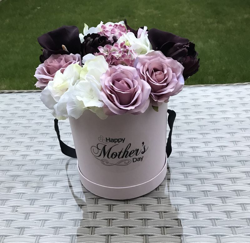 Classic Blush Mother's Day Hat Box  - product image