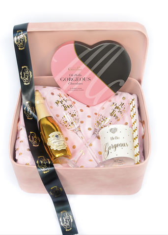 Hello,Gorgeous,Prosecco,Hamper,Gift for her, Hampers, Gift Hamper, prosecco gift, Chocolate hamper, Gifts, Birthday Gifts