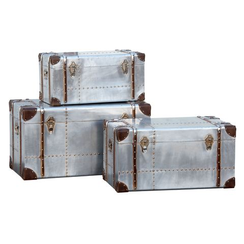 Aluminium,Trunk,Set,Aluminium Trunk Set, Trunk, Storage