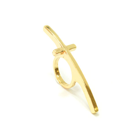 LONG,CROSS,RING,CURVE RINGS, CURVE KNUCKLE RING, CURVE CROSS RING