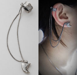 COW BONE SHAPE EAR CUFF - product image