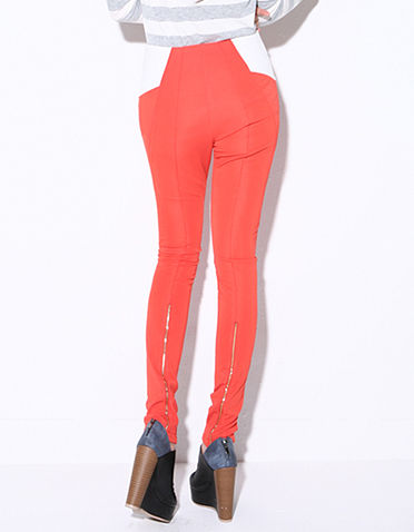 CONTRAST POCKET TROUSERS - product image