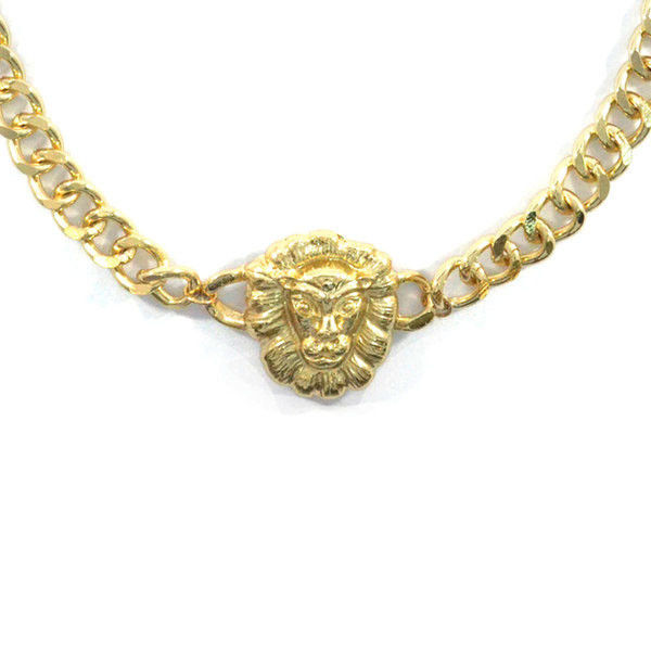 CHUNKY LION NECKLACE - product image