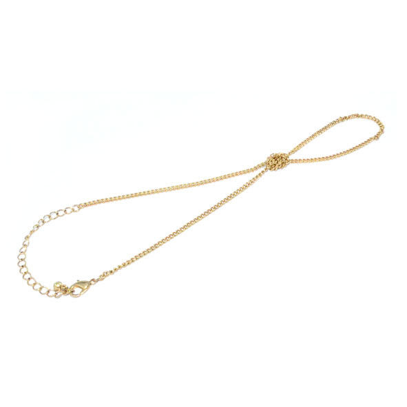 CHAIN WITH KNOT BRACELET - product image