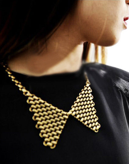 CHAIN MAIL COLLAR NECKLACE - product image