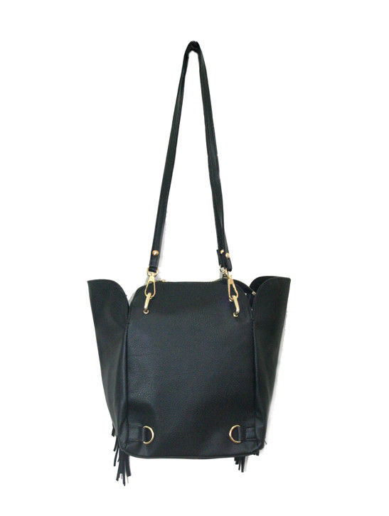 BLACK TASSELS BAG - product image