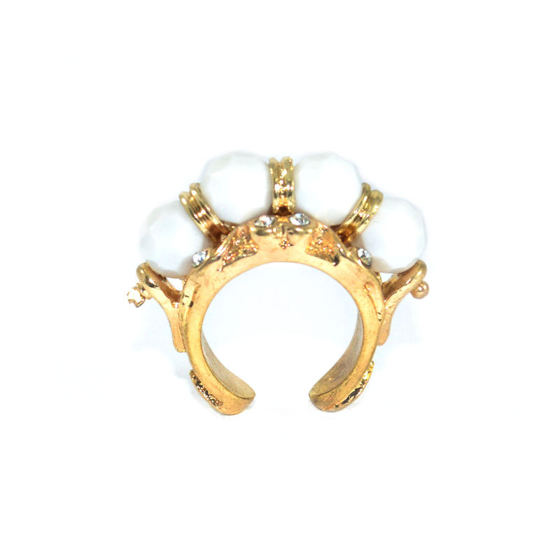 BEADS WITH CRYSTAL DECOR RING - product image