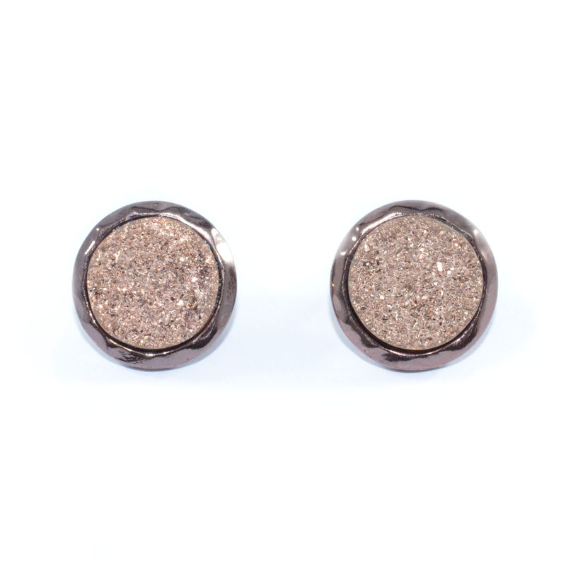 IRREGULAR EDGE SPARKLE EARRINGS - product image